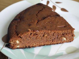 Pastel de chocolate sin azúcar, riquísimo! :) Aquí la receta: http://dulcesdiabeticos.com/receta-pastel-de-chocolate-sin-azucar/