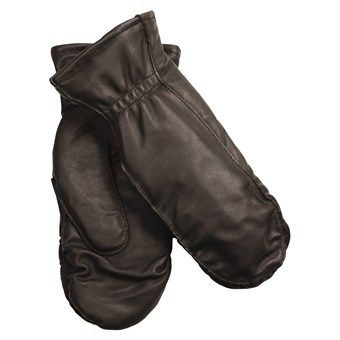 Auclair Moccasin Finger Sheepskin Gloves-Mittens - Polyfleece Lining (For Women) -- I already have these but I NEED another pair. The size on mine says medium but maybe they are kids... I don't know.