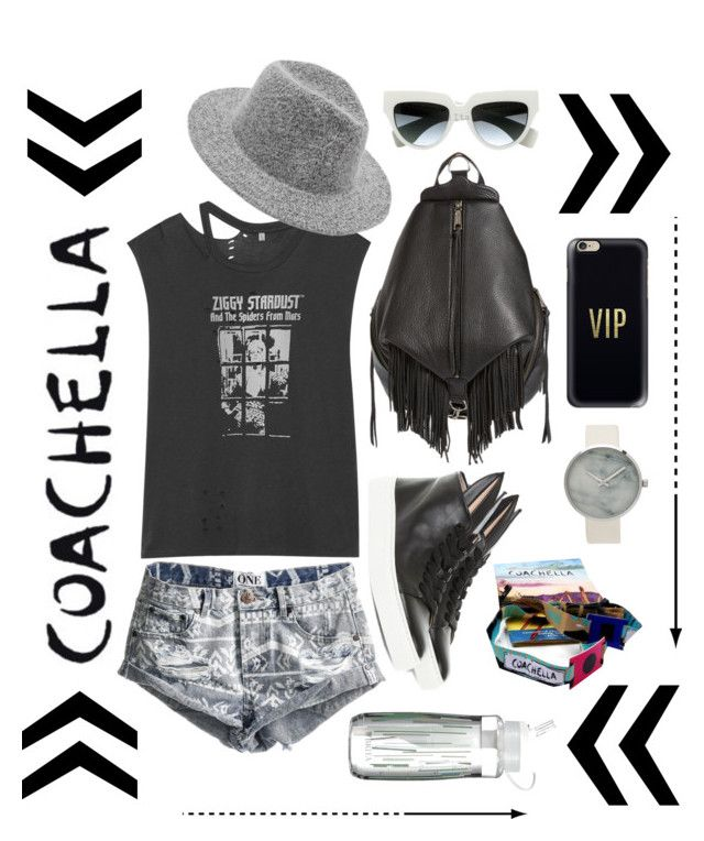 Coachella | Vibes by bosko on Polyvore featuring polyvore, fashion, style, R13, One Teaspoon, Minna Parikka, Rebecca Minkoff, Casetify, Prada, Brita, clothing and packforcoachella