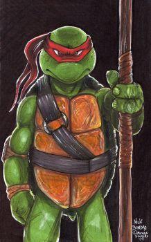 Donatello by Phraggle