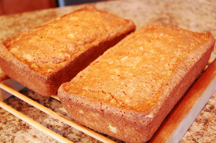 My mom used to bake this bread when I was little. I remember eating it for an afternoon snack and sometimes for breakfast. It's a flavorful, moist loaf. A nice change from banana bread. Here's what you'll need: 2 cups sugar 3 cups flour 1 1/2 tsp. cinnamon 1 tsp. baking soda 1 tsp. salt [...]