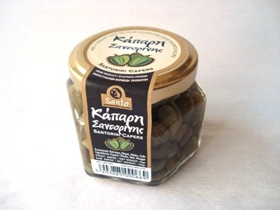 Capers from the island of Santorini.