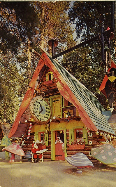 Santa's Home Santa's Village 1961 by mod*mom, via Flickr