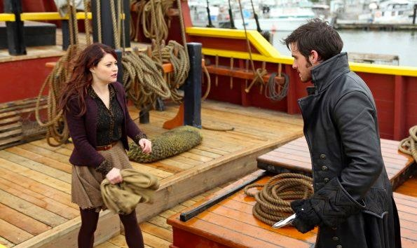 Belle and Captain Hook