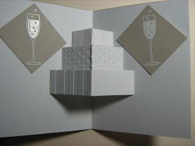 Sharon it with you: Wedding cake card!!!