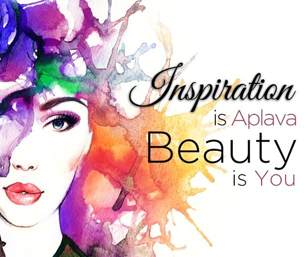 With Aplava you need seek outward inspirations, when it comes to beauty. It comes within. Amaze yourselves with our wide ranges @ www.aplava .com