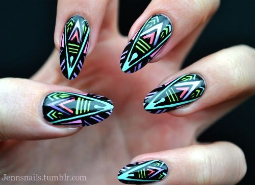 69 best nails tribal images on pinterest friends family 1 favoritas tumblr toytribal nailsnail art prinsesfo Image collections
