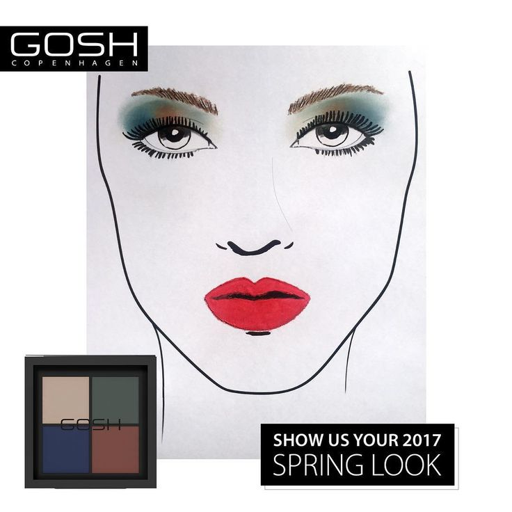 Are you ready for a serious HELLO SPRING COLOUR PARTY? So go crazy, creative, vibrant & springish. Share your spring look #GOSHCOPENHAGENSPRINGLOOK and get the chance to win our new EYE XPRESSION – URBAN NATURE.  #GOSHCOPENHAGEN #BEAUTIFULYOU #URBANNATURE #SPRING #LOOK #EYESHADOW #NEW #NEWIN #FACECHART