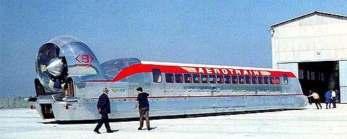 L'Aérotrain de Jean Bertin