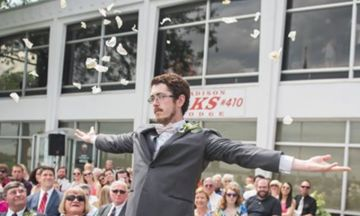 Grown Man Steals The Show As 'Flower Girl' At His Cousin's Wedding | HuffPost UK