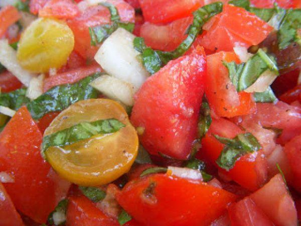 Too Hot to Cook: Tomato Crudo