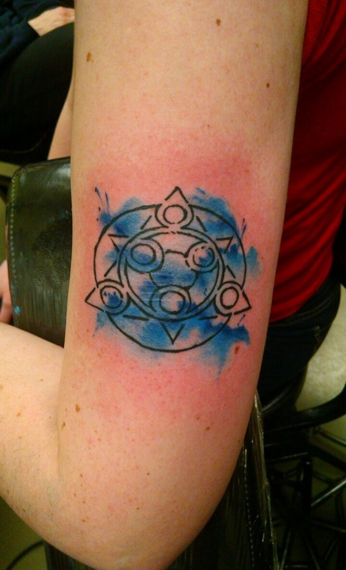 Save point tattoo from tales of symphonia