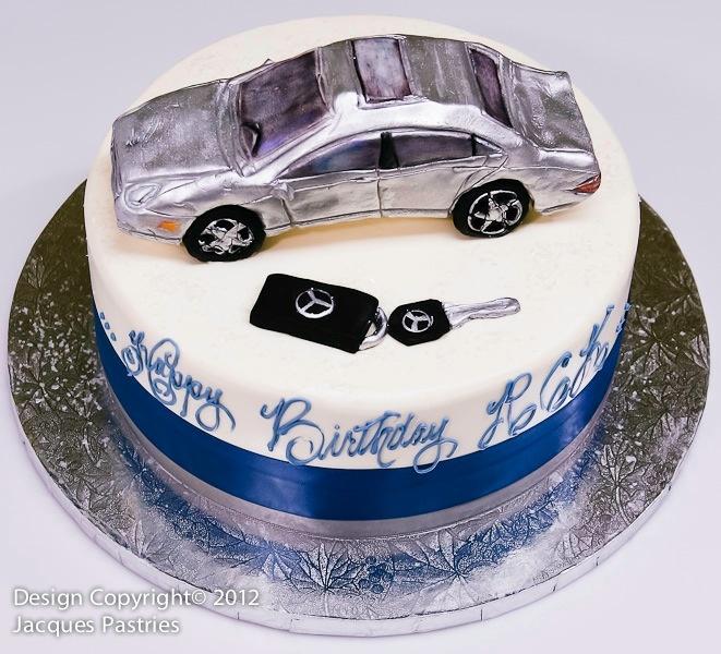 Th Birthday Cake With Car