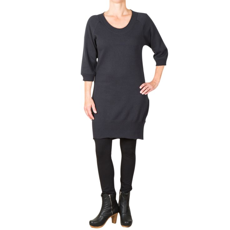 Ashley knitted dress - dark grey
