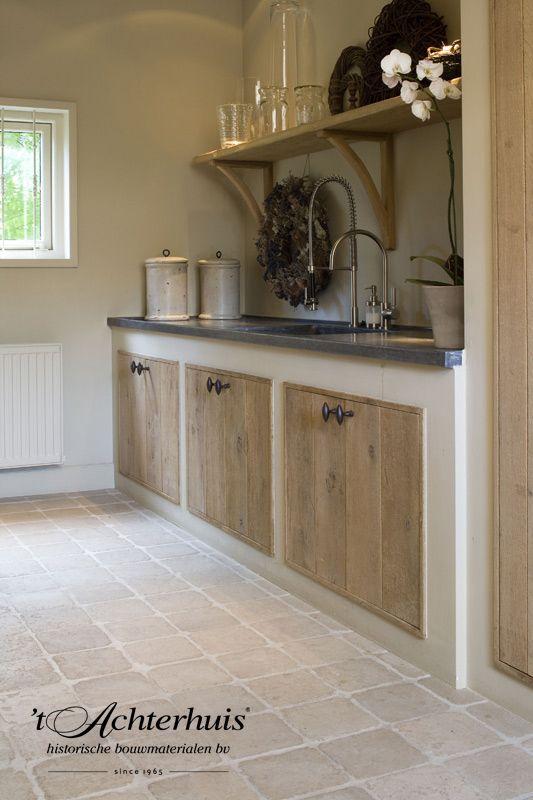 17 beste idee n over kleine landelijke keukens op pinterest eetkeuken kleine keuken ontwerpen - Tegel keuken oud ...
