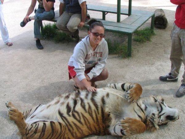 Argentina's Lujan Zoo...it is a petting zoo but with totally exotic animals (that are apparently fully tame!) hmmmm this sounds awesome!