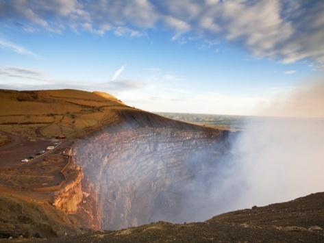 Masaya Volcano National Park, Santiago Crater, Nicaragua