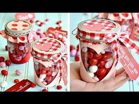 DIY Valentine's day ideas / 50 dulces ideas para el 14 de Febrero