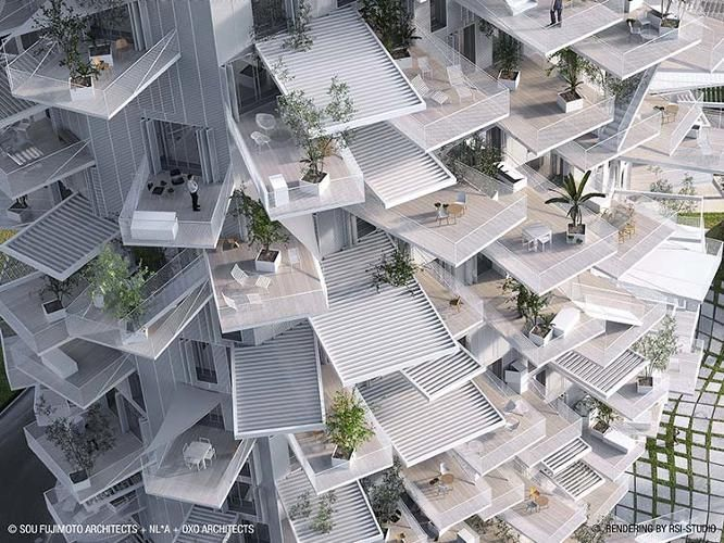 6 | This Amazing High-Rise Apartment Building Looks Like A Giant Tree | Co.Exist | ideas + impact