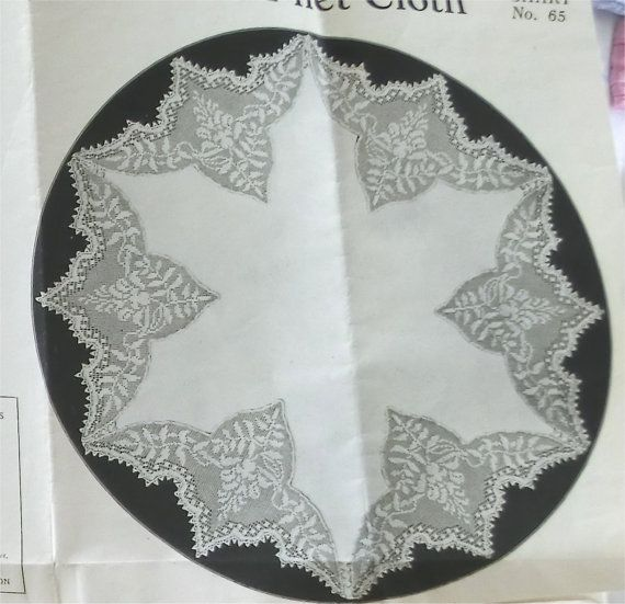 Mary Card filet crochet chart number 65 Wisteria - original pattern. £35.00, via Etsy.
