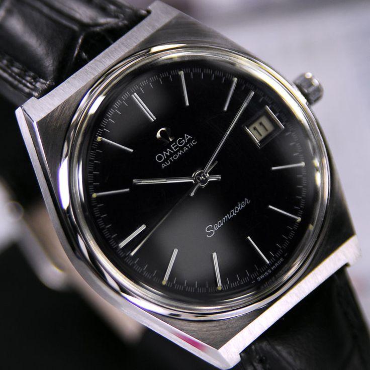 Omega Uhr Schwarz