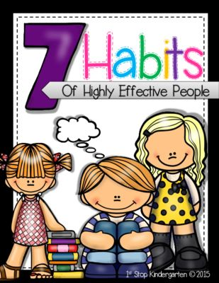 Seven Habits Posters! Identifies key points for each habit in a fun and engaging way!