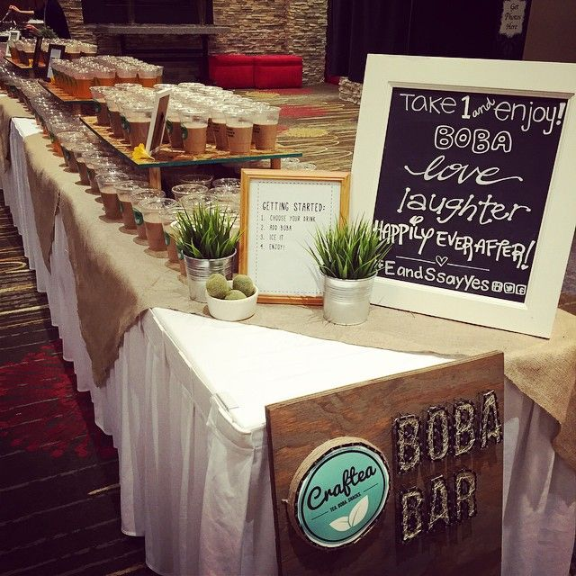 I Will Definitely Have A Boba Station / Catered At My