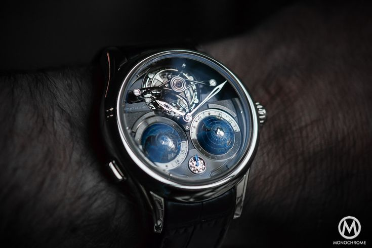 Hands-on with the Montblanc Tourbillon Cylindrique Geospheres NightSky (live pics and price)