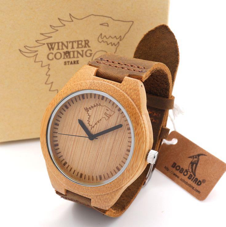 $29.99 (Buy here: https://alitems.com/g/1e8d114494ebda23ff8b16525dc3e8/?i=5&ulp=https%3A%2F%2Fwww.aliexpress.com%2Fitem%2FWood-Watch-Luxury-Genuine-Leather-Band-Women-s-Bamboo-Wristwatches%2F32457600322.html ) BOBO BIRD 2016 Fashion Wolf Head Analog Wood Watch Luxury For Men With Genuine Leather Band Quartz Watch In Gift Box for just $29.99