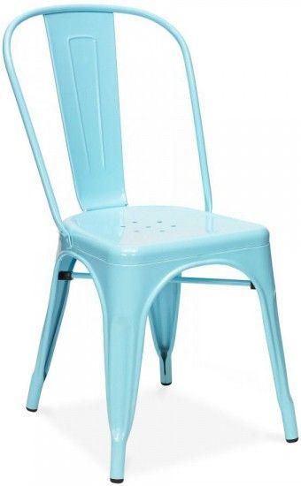 Cadeira tolix colors me wants pinterest cadeira azul - Housse de coussin 65 65 ...