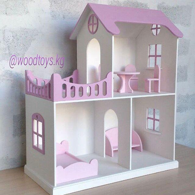 342Мебель для кукольного домика из фанеры чертежи