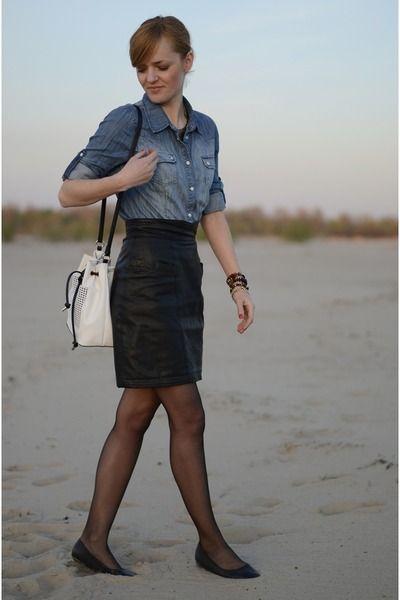 Denim & leather