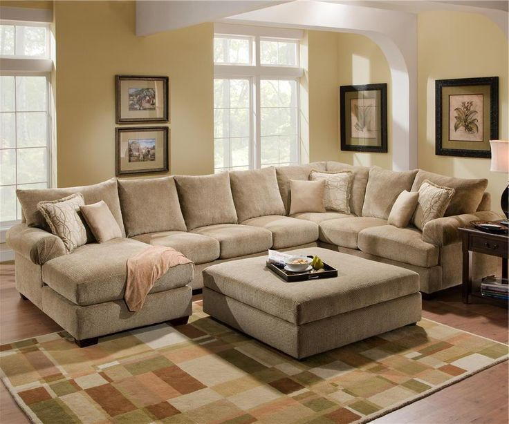 4510 Casual Sectional Sofa Group With Chaise By Corinthian   Wolf Furniture    Sofa Sectional Pennsylvania, Maryland, Virginia