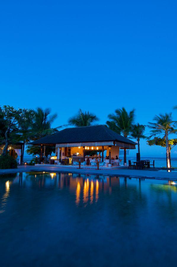 The Bali Khama Beach Resort and Spa Tanjung Benoa Bali Indonesia - one of these days...I will go :)