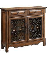 Coaster Furniture Brown Scrolled Decorative Chest #coasterfurnituredecor #coasterfurniturebrown