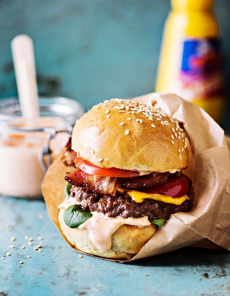 BBQ-hampurilaiset | K-ruoka #grillaus