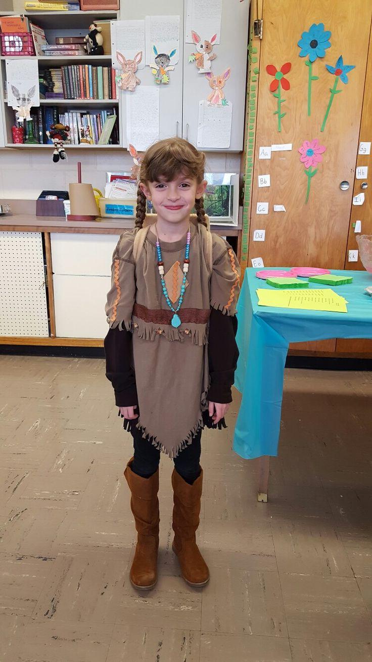 Sacagawea costume 2017
