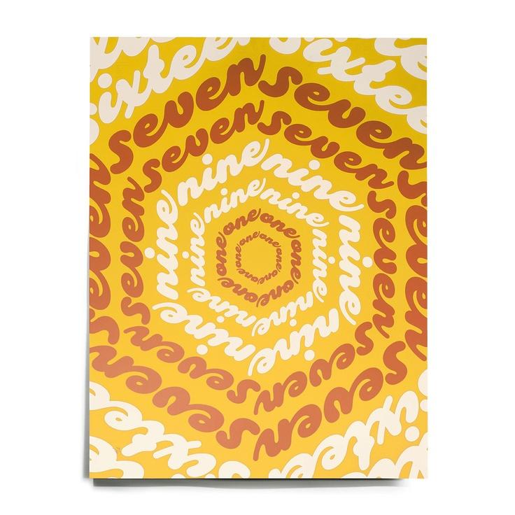 Fab.com | Superstar Numerology Print Ylw
