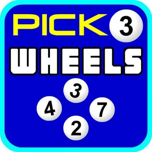Lottery Wheels Pick 3 Daily Number Wheel Generator  App easily creates Full Wheels, Partial Wheels and Key Number wheels.  Works with any Pick 3 daily number state lottery. http://www.lotteryappspro.com/    http://play.google.com/store/apps/details?id=com.mobilelotterylogic.lottery.wheel.pro.amg  http://www.amazon.com/dp/B00D5XLM9C/ref=cm_sw_r_pi_dp_BVJRrb1GWX50D