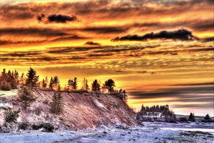 A favorite scenic location for me and my camera... two minutes away from my home in Cheverie, Nova Scotia.