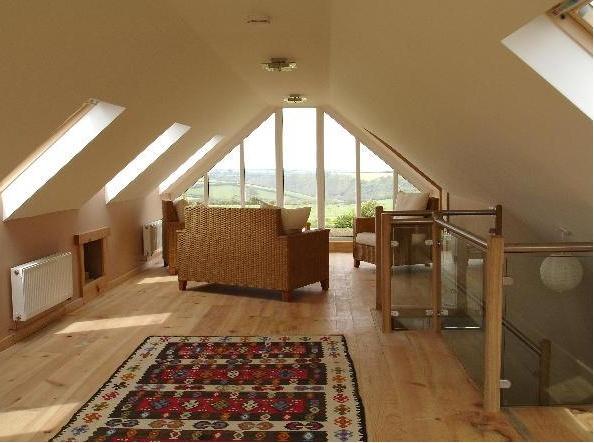 Oh, the attic window!