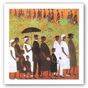 """Funeral Procession by Ellis Wilson - from The Cosby Show, episode """"The Auction"""""""