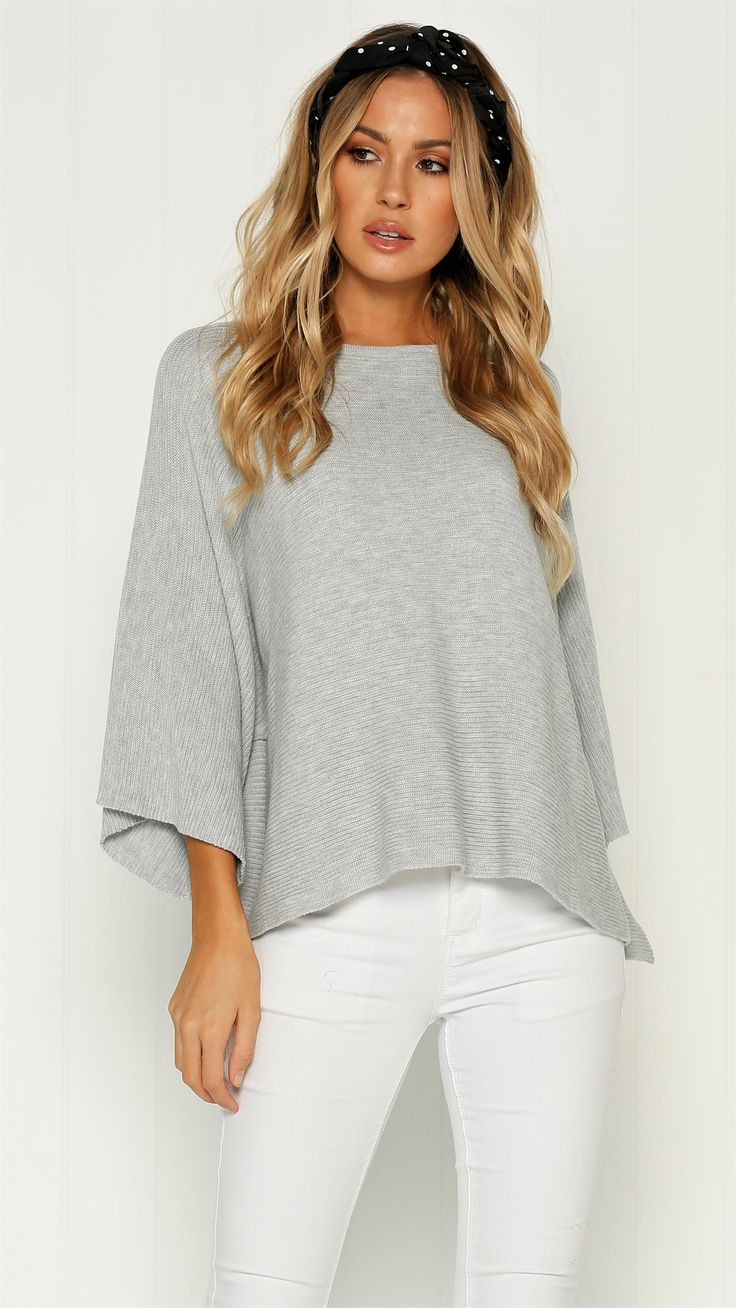 Label of Love - Close To Me Knit - Grey - Restocked