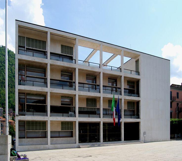 Building: Casa del Fascio. Giuseppe Terragni. 1936, Como, Italy