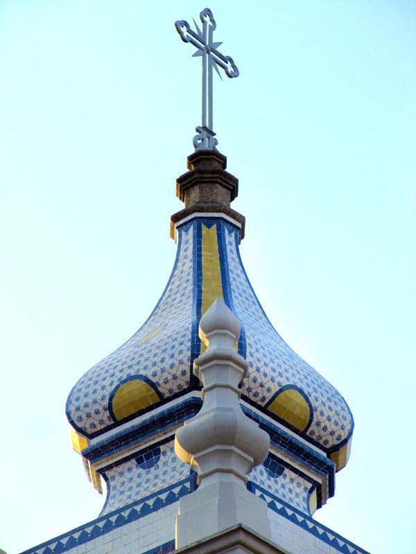 Azulejos antigos no Rio de Janeiro: Tijuca II - Igreja de São Francisco Xavier