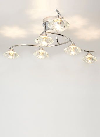 Bhs Wall Lights: Marina 6 Light Ceiling Flush,Lighting