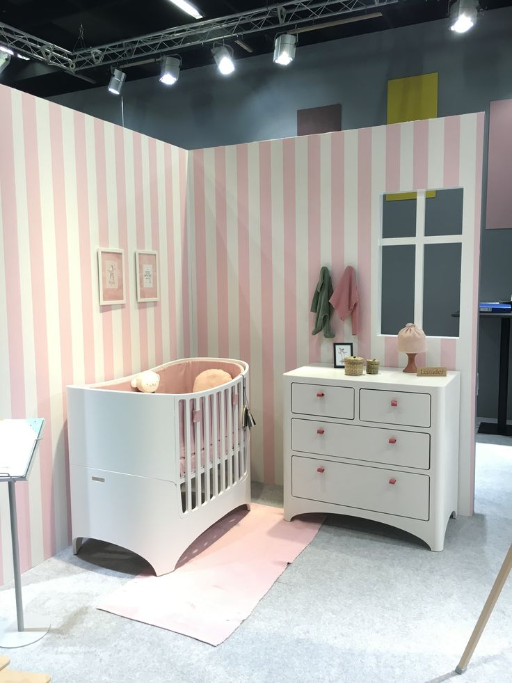 Leander baby cot and chest of drawers at the Kind und Jugend fair