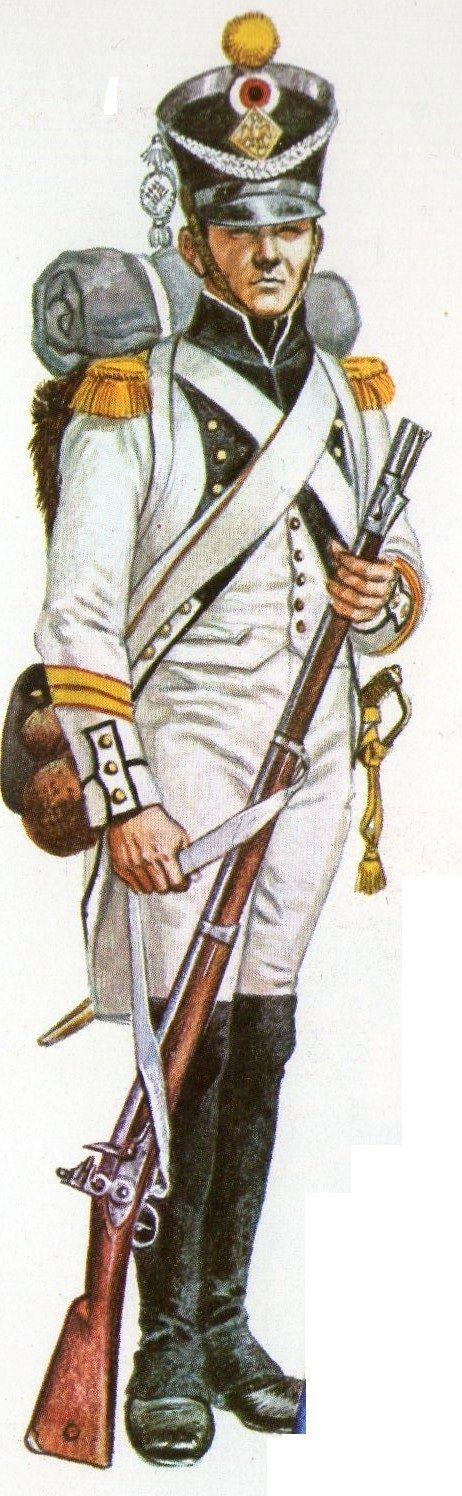 French (Voltiguer) 15th line Regt.