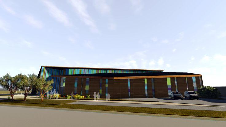 Escuela San Agustín Frutillar. Colaboración de los arquitectos: Jenniffer Santana, Mario Barrientos.