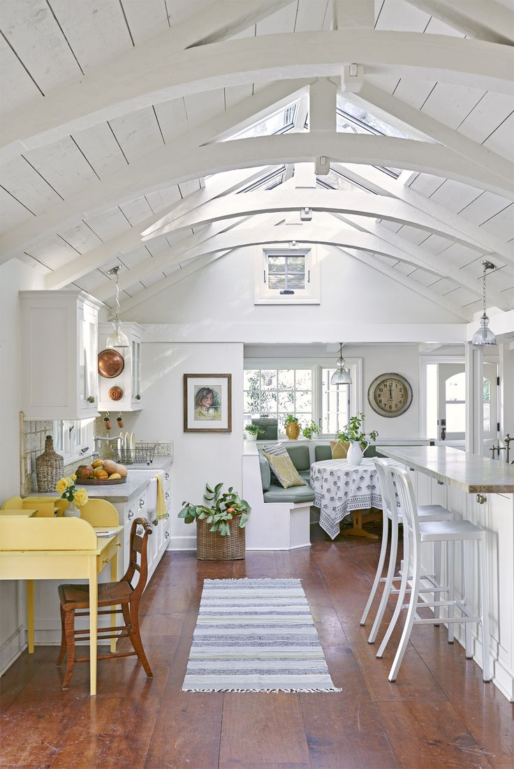I want that ceiling with windows and arches!